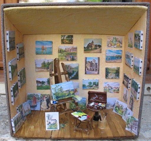 Minisreveries - Atelier artiste peintre ...