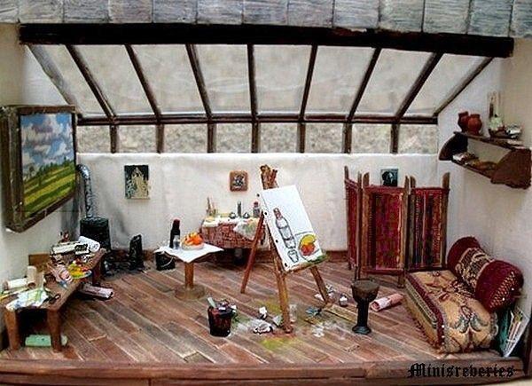L 39 atelier de l 39 artiste peintre - Atelier artiste peintre ...